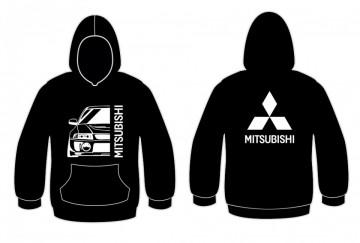 Sweatshirt com capuz para Mitsubishi Lancer Evo