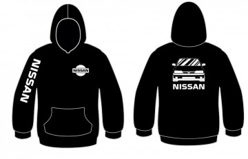 Sweatshirt com capuz para Nissan Sunny
