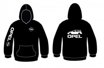 Sweatshirt com capuz para Opel Astra H caravan