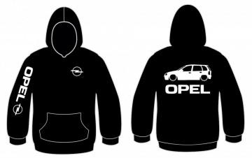 Sweatshirt com capuz para Opel Corsa B (5 portas)
