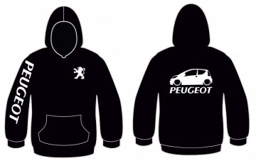 Sweatshirt com capuz para Peugeot 107