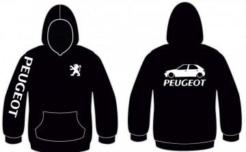 Sweatshirt com capuz para Peugeot 306 5 portas