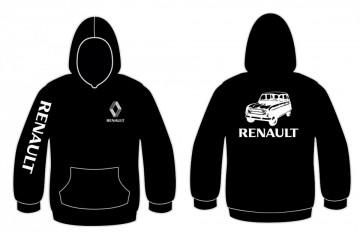 Sweatshirt com capuz para Renault 4L