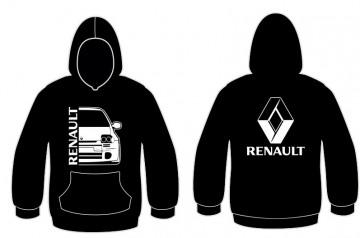 Sweatshirt com capuz para Renault Clio 2 Faze 1