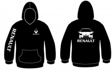 Sweatshirt com capuz para Renault Clio MK1 fase 2