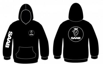 Sweatshirt com capuz para Saab