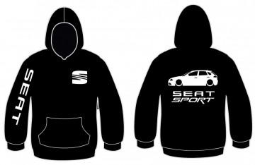 Sweatshirt com capuz para Seat Ibiza 6L 5P