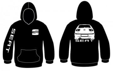 Sweatshirt com capuz para Seat Leon 1p