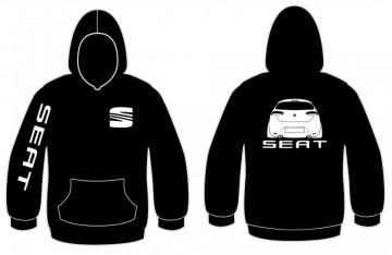 Sweatshirt com capuz para Seat Leon Restyling MK2