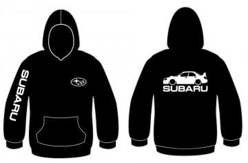 Sweatshirt com capuz para Subaru impreza WRX STi 2