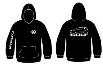 Sweatshirt com capuz para Volkswagen Golf 6
