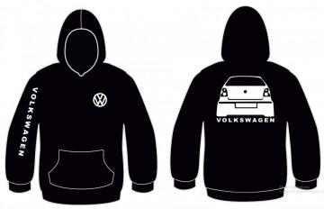 Sweatshirt com capuz para VW Polo 9N1