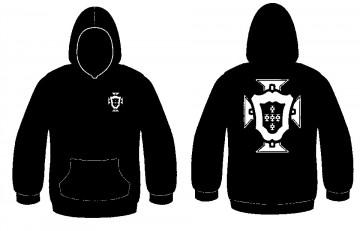 Sweatshirt com capuz -  Portugal (Federação)