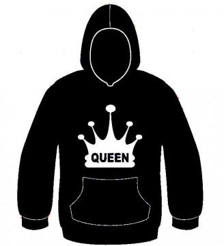 Sweatshirt com capuz - Queen Coroa