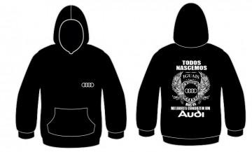 Sweatshirt com capuz Todos Nascemos (Audi)
