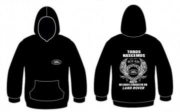 Sweatshirt com capuz Todos Nascemos (Land Rover)
