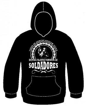 Sweatshirt com capuz - Todos os homens nascem iguais, depois alguns tornam-se soldadores