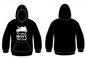 Sweatshirt com capuz - Two Wheels Move the Soul