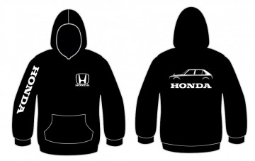Sweatshirt para Honda Civic CVCC 5 portas