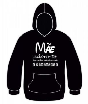 Sweatshirt para Mãe Adoro-te