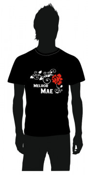 T-shirt com Melhor mãe