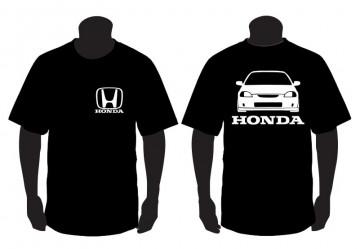 T-shirt para Honda Civic Del Sol