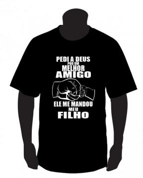 T-shirt para Pedi a deus