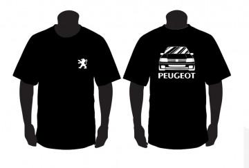 T-shirt para Peugeot 205 rallye