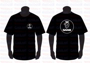 T-shirt  para Saab