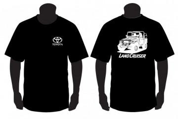 T-shirt para Toyota Land Cruiser FJ40