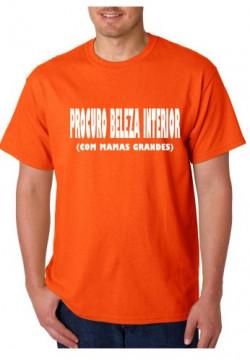 T-shirt  - Procuro Beleza Interior (COM MAMAS GRANDES)