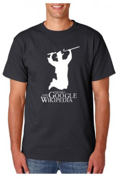 T-shirt  - Thanks google and Wikipedia