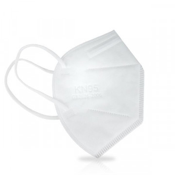 100x Máscara Descartável Auto-Filtrante FFP2 - CE - KN95