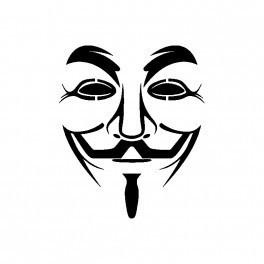 Autocolante - Anonymous