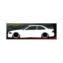 Autocolante - BMW E36 Coupe