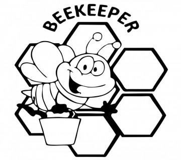 Autocolante com Beekeeper