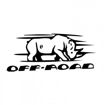 Autocolante com Off Road
