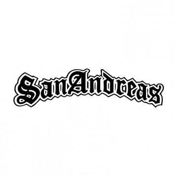 Autocolante com SanAndreas