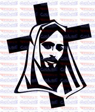 Autocolante - Cristo