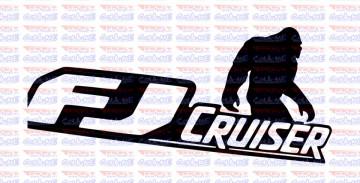 Autocolante - FJ Cruiser