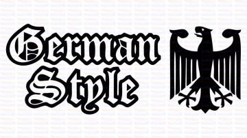 Autocolante - German Style