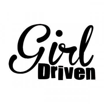 Autocolante - Girl driven