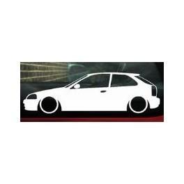 Autocolante - Honda Civic EK
