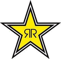 Autocolante Impresso - Estrela Rockstar