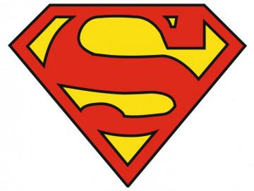 Autocolante Impresso - Super Homem