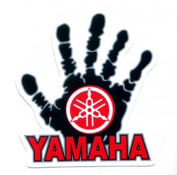 Autocolante Impresso - Yamaha mão