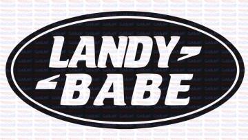 Autocolante - Landy Babe