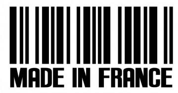 Autocolante - Made in France - Código de barras