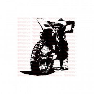 Autocolante - Motocross 2
