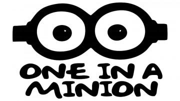 Autocolante - One in a Minion